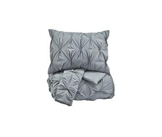 ashley furniture rimy gray comforter set