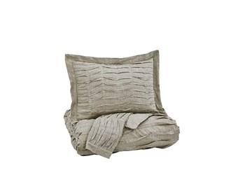 ashley furniture voltos brown duvet cover set