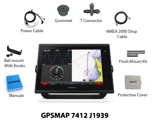 garmin gpsmap 7412 j1939 new