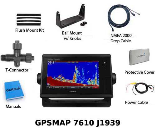 garmin gpsmap 7610 j1939 new