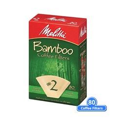 """Item # 63117 <br /> <ul> <li><span class=""""blackbold"""">#2 Bamboo Coffee Filters</span></li> <li>Microfine Flavor Enhancing Perforations</li> <li><span class=""""bluebold"""">Brews Rich, Flavorful Coffee</span></li> <li>Double Crimped Filter Design</li> <li>60% Bamboo</li> <li>Gluten Free</li> <li>Kosher Certified</li> </ul>"""