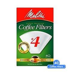 "Item # 624404 <br /> <ul> <li><span class=""blackbold"">#4 Cone Coffee Filters</span></li> <li>Microfine Flavor Enhancing Perforations</li> <li><span class=""bluebold"">Brews Rich, Flavorful Coffee</span></li> <li>Double Crimped Filter Design</li> <li>Chlorine & Gluten Free</li> <li>Kosher Certified</li> </ul>"