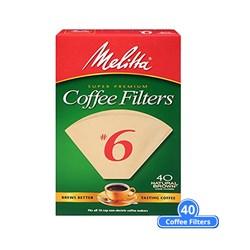 "Item # 626412 <br /> <ul> <li><span class=""blackbold"">#6 Cone Coffee Filters</span></li> <li>Microfine Flavor Enhancing Perforations</li> <li><span class=""bluebold"">Brews Rich, Flavorful Coffee</span></li> <li>Double Crimped Filter Design</li> <li>Chlorine & Gluten Free</li> <li>Kosher Certified</li> </ul>"