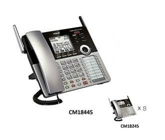 vtech cm18445 small susiness phone system starter bundle
