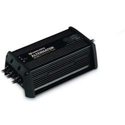 Product # 1821033 <ul> <li>On-board DC Alternator Charger</li> <li>30 Amps Total Output</li> <li>Alternator Charging Design</li> <li>Charge-on-the-Fly Circuitry</li> <li>LED indicators</li> <li>FCC Compliant</li> </ul>
