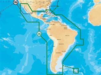 navionics gold central south america