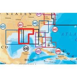 "Product # MSD/651PP (microSD Card) <ul> <li><span class=""blackbold"">Gulf Of Mexico Central Marine Chart</span></li> <li>Covers Entire Gulf Of Mexico Central From Cape San Blas To Baton Rouge</li> <li>Improved 3D View</li> <li>Contiguous Satellite Photo Overlay</li> <li><span class=""redbold"">Brilliant Panoramic Pictures</span></li> <li>High-Definition Fishing Details</li> <li>Enhanced Port Services</li> </ul>"