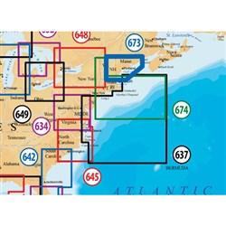 "Product # MSD/673P+ (microSD Card) <ul> <li><span class=""blackbold"">Maine Marine Chart</span></li> <li>Covers Entire Maine From West Isles ME south to Marblehead MA</li> <li>Improved 3D View</li> <li>Contiguous Satellite Photo Overlay</li> <li><span class=""redbold"">Brilliant Panoramic Pictures</span></li> <li>High-Definition Fishing Details</li> <li>Enhanced Port Services</li> </ul>"