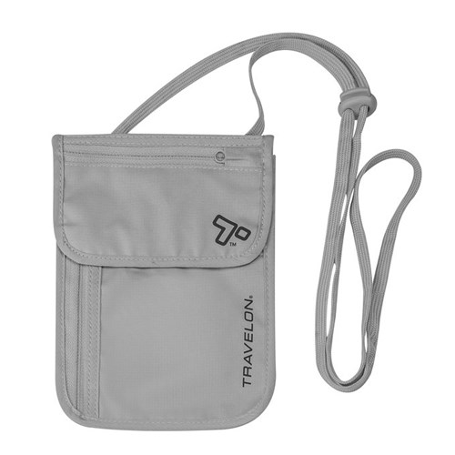 travelon rfid blocking undergarment neck pouch