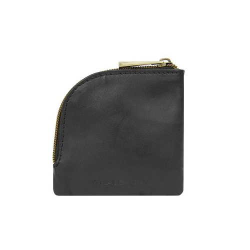 travelon rfid blocking leather coin and card pouch