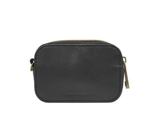 travelon rfid blocking leather top zip card pouch