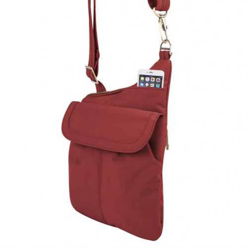 anti theft signature slim crossbody bag