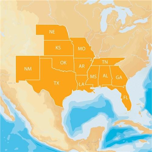 navionics hotmaps platinum lake maps south