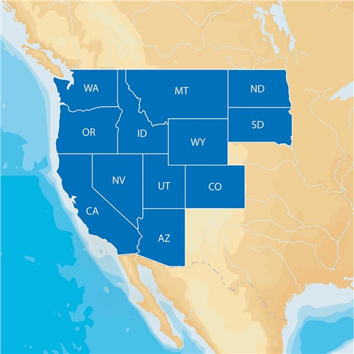 navionics hotmaps platinum lake maps west lowrance