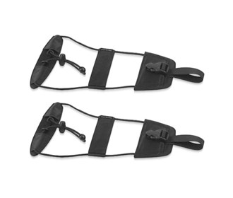 travelon set of 2 bag bungee black