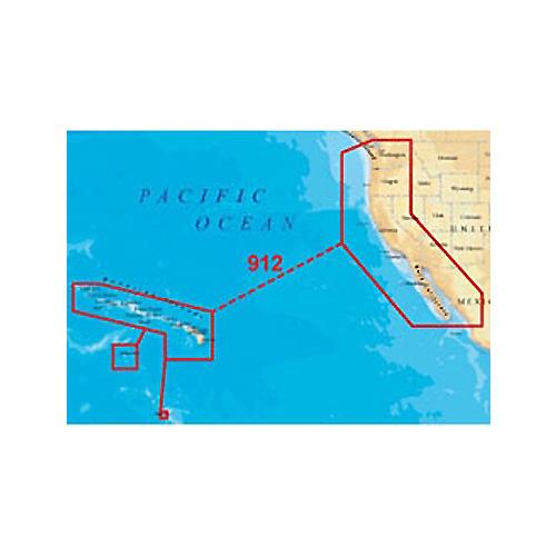 navionics platinum plus 912pp us west coast hawaii lowrance