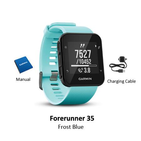 garmin forerunner 35 frost blue