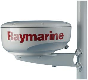 raymarine mast mounting bracket for 18inch domes
