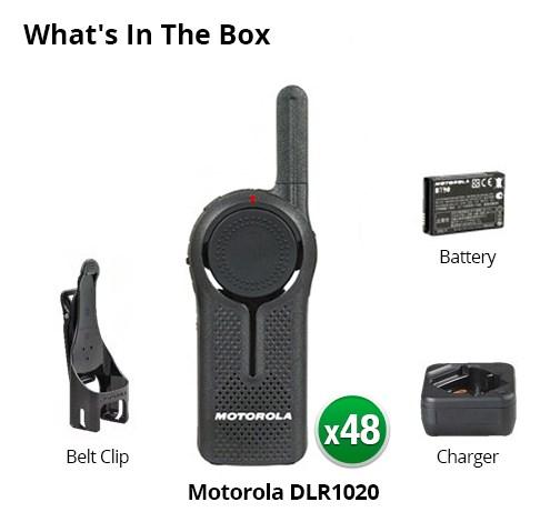 motorola dlr1020 6 pack