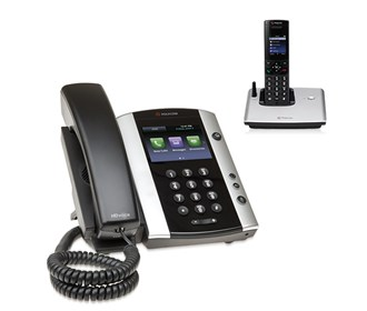 polycom 2200 44500 025 vvx 500 with wireless handset