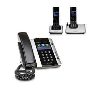polycom 2200 44500 001 vvx 500 with wireless handsets