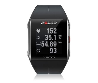 polar v800 fitness watch with heart rate sensor