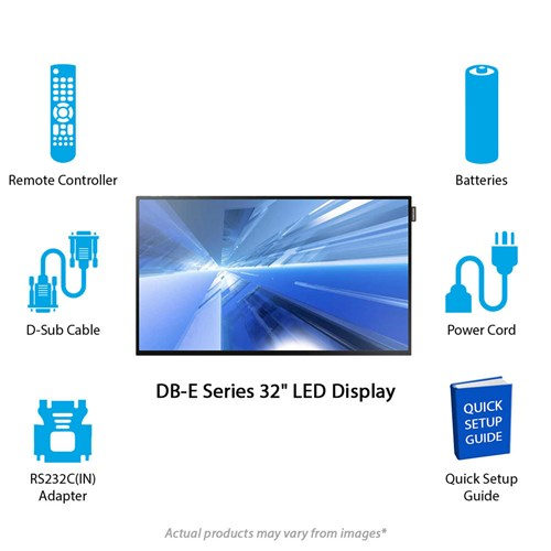 samsung db e series 32 led display