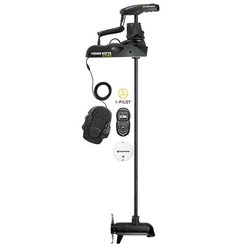 minn kota ulterra 112 w ipilot and bluetooth 112 lbs thrust 60inch shaft