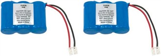 replacement battery for atnt 2422 2 pack