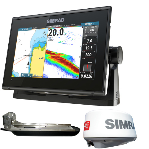 simrad go9 xse 4g radar bundle