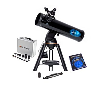 Celestron AstroFi 130mm WiFi reflector Bundle