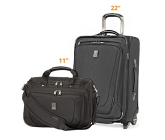 travelpro crew11 22 rolla deluxe tote
