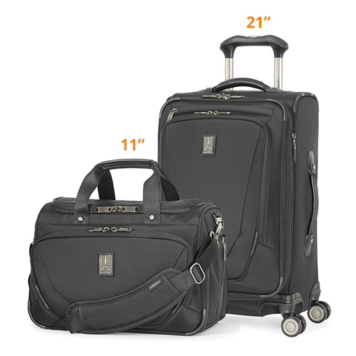travelpro crew11 21 spinner deluxe tote