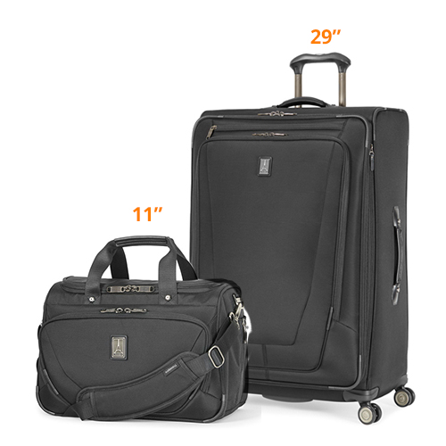 travelpro crew11 29 spinner deluxe tote black