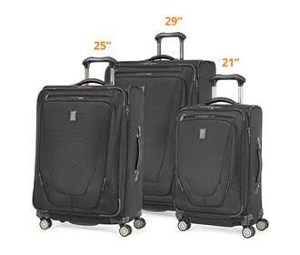 travelpro crew11 3 piece set 21 25 29