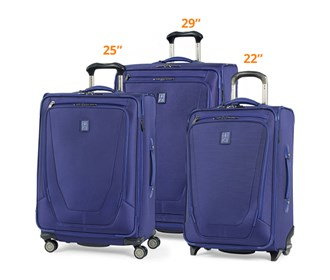 travelpro crew11 3 piece set 22 25 29
