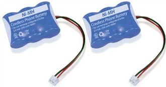 replacement battery for atnt 4051 2 pack