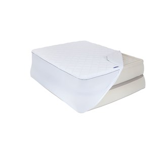 aerobed queen size insulated plush mattress cover