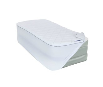 aerobed twin size insulated plush mattress cover