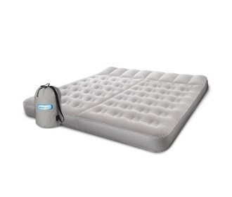 AeroBed King Size Sleep Basics Airbed With Hand Held Pump 2000012051