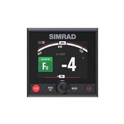 "Product # 000-13289-001 <br /> <ul> <li><span class=""blackbold"">AP44 Autopilot Controller</span></li> <li>Optically Bonded 4.1"" Colour Display</li> <li>Low-Profile Glass Helm Design</li> <li><span class=""bluebold"">Simrad Continuum Steering Technology</span></li> <li>Waterproof Silicon Keys</li> <li>Prominent Off Key</li> </ul>"