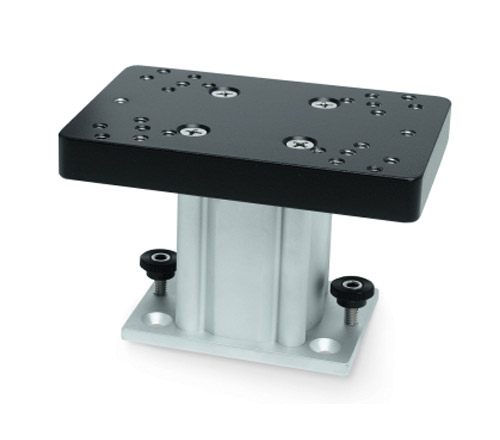 cannon fixed base downrigger pedestal