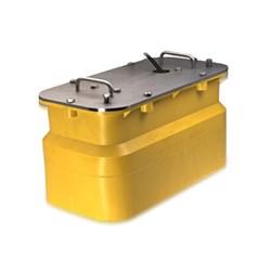 """Product # CA50/200ID-R199  <ul> <li><span class=""""blackbold"""">In-Hull Transducer</span></li> <li>Power of 2 kW RMS</li> <li>Rubber Coated In-Hull w/ Tank</li>  <li>Clearly Reads at High Speeds</li> </ul>"""