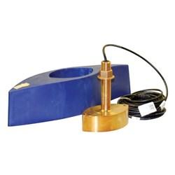 """Product # 525TID-BHD <ul> <li><span class=""""blackbold"""">Through Hull Transducer</span></li> <li>1kw</li> <li>Bronze Thru-Hull w/ Twmperature</li> <li>Frequency 50/200 kHz</li> </ul>"""