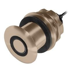 "Product # 235DHT-MSE <ul> <li><span class=""blackbold"">Bronze Through Hull Transducer</span></li> <li>Frequency 235kHz</li> <li><span class=""redbold"">200 Watts Power</span></li> <li>Provides Depth &amp; Temp</li> </ul>"