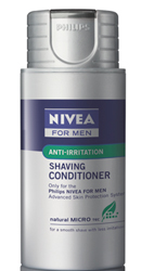 <ul> <li>Nivea Moisturizing Shaving Conditioner</li> </ul>