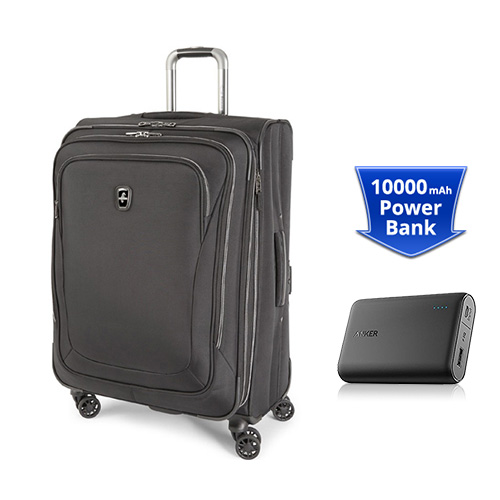 Travelpro Unite 2 25 Inch With Anker Powercore 10000