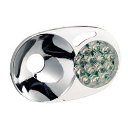 "Product # E60970 <ul> <li><span class=""blackbold"">LED Module &amp; Reflector</span></li> <li>14-LED Module</li> <li>Three Constant Lighting Mode</li> <li>Replaces 2-Pin Bulb or MODU'LED</li> </ul>"