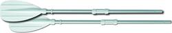 """<ul> Product # AHIB53 <li><span class=""""blackbold"""">OARS</span></li> <li>2 Section Aluminum Shafts</li> <li>Durable & Lightweight</li> <li>15 in. High Impact Plastic Blades</li> <li>Length: 53 inches</li> </ul>"""
