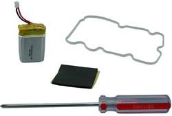 "<ul>   <li><span class=""blackbold"">Transmitter Battery Kit</span></li>  </ul>"